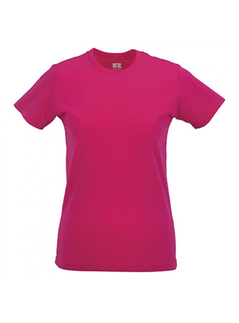 Дамска Тениска В Цвят Фуксия