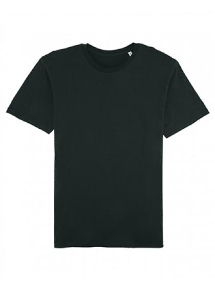 Мъжка Черна Тениска От Органичен Памук